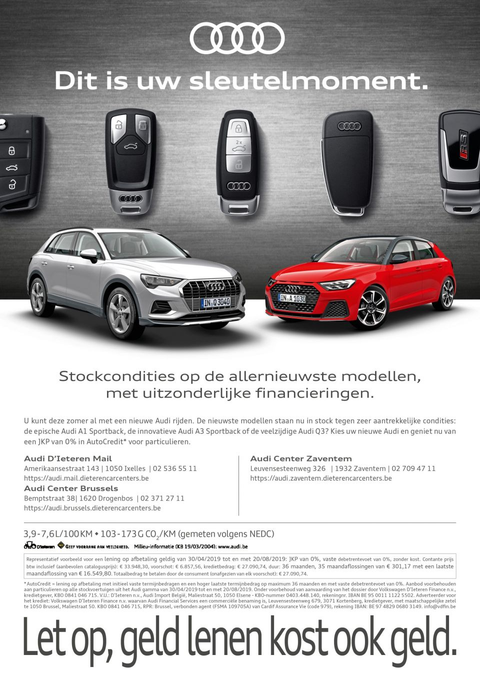 Audi stockcondities